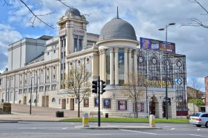 The Alhambra Theatre in Bradford